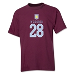 Aston Villa N'zogbia Youth T-Shirt (Maroon)