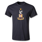 Bradford City Youth Crest T-Shirt (Black)