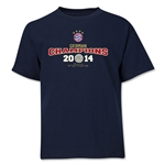 Bayern Munich 2014 Bundesliga Champions Youth T-Shirt (Navy)