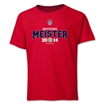 Bayern Munich 2014 Bundesliga Champions Youth T-Shirt (Red)