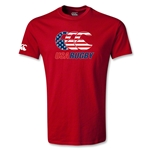 USA Rugby Stars and Stripes Youth T-Shirt (Red)
