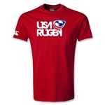 USA Rugby Logo Youth T-Shirt (Red)