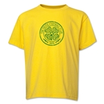 Celtic Distressed Youth T-Shirt (Yellow)