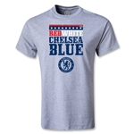 Chelsea Red White and Blue Youth T-Shirt (Gray)