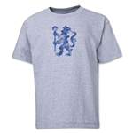 Chelsea Distressed Lion Youth T-Shirt (Gray)
