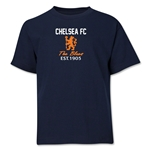 Chelsea Graphic Youth T-Shirt (Navy)