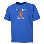Chelsea Graphic Youth T-Shirt (Royal)