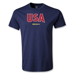 CONCACAF Gold Cup 2013 Youth USA T-Shirt (Navy)