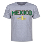 CONCACAF Gold Cup 2015 Mexico Youth Big Logo T-Shirt (Grey)