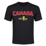 CONCACAF Gold Cup 2015 Canada Youth Big Logo T-Shirt (Black)