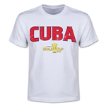 CONCACAF Gold Cup 2015 Cuba Youth Big Logo T-Shirt (White)