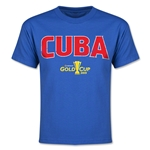 CONCACAF Gold Cup 2015 Cuba Youth Big Logo T-Shirt (Royal)