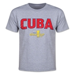 CONCACAF Gold Cup 2015 Cuba Youth Big Logo T-Shirt (Grey)