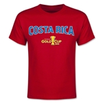 CONCACAF Gold Cup 2015 Costa Rica Youth Big Logo T-Shirt (Red)