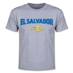 CONCACAF Gold Cup 2015 El Salvador Youth Big Logo T-Shirt (Grey)