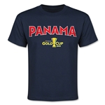CONCACAF Gold Cup 2015 Panama Youth Big Logo T-Shirt (Navy)