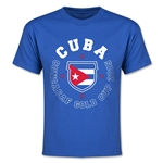 CONCACAF Gold Cup 2015 Cuba Youth T-Shirt (Royal)