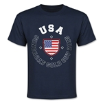 CONCACAF Gold Cup 2015 USA Youth T-Shirt (Navy)
