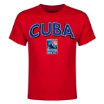 Cuba CONCACAF 2015 Men's Olympic Qualifying Youth T-Shirt (Red)