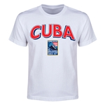 Cuba CONCACAF 2015 Men's Olympic Qualifying Youth T-Shirt (White)