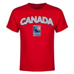 Canada CONCACAF 2015 Men's Olympic Qualifying Youth T-Shirt (Red)