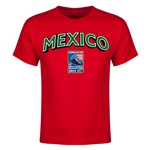 Mexico CONCACAF 2015 Men's Olympic Qualifying Youth T-Shirt (Red)