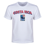 Costa Rica CONCACAF 2015 Men's Olympic Qualifying Youth T-Shirt (White)
