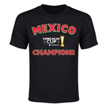 Mexico CONCACAF 2015 Cup Champions Youth T-Shirt (Black)