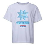 Argentina Copa America 2015 Banderas Youth T-Shirt (White)