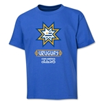 Uruguay Copa America 2015 Banderas Youth T-Shirt (Royal)