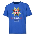 Venezuela Copa America 2015 Banderas Youth T-Shirt (Royal)