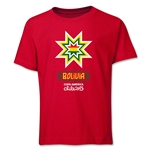 Bolivia Copa America 2015 Banderas Youth T-Shirt (Red)