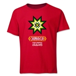 Jamaica Copa America 2015 Banderas Youth T-Shirt (Red)