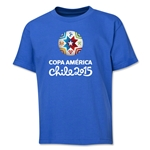 Copa America 2015 Core 1 Portrait Youth T-Shirt (Royal)