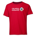 Copa America 2015 Core Landscape Youth T-Shirt (Red)
