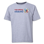 Copa America 2015 Core Landscape Youth T-Shirt (Grey)