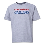 Copa America 2015 Event Title Youth T-Shirt (Grey)
