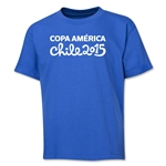 Copa America 2015 Event Title Youth T-Shirt (Royal)