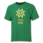 Bolivia Copa America 2015 Banderas Youth T-Shirt (Green)