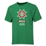 Mexico Copa America 2015 Banderas Youth T-Shirt (Green)