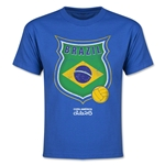 Brazil Copa America 2015 Badge Youth T-Shirt (Blue)