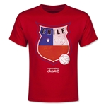 Chile Copa America 2015 Badge Youth T-Shirt (Red)