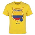 Colombia Copa America 2015 Badge Youth T-Shirt (Yellow)