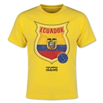 Ecuador Copa America 2015 Badge Youth T-Shirt (Yellow)