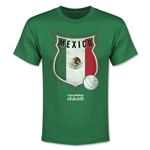 Mexico Copa America 2015 Badge Youth T-Shirt (Green)