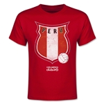 Peru Copa America 2015 Badge Youth T-Shirt (Red)