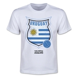 Uruguay Copa America 2015 Badge Youth T-Shirt (White)