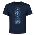 Argentina Copa America 2015 Youth T-Shirt (Navy)