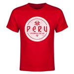 Peru Copa America 2015 Youth T-Shirt (Red)