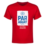 Paraguay Copa America 2015 Youth T-Shirt (Red)